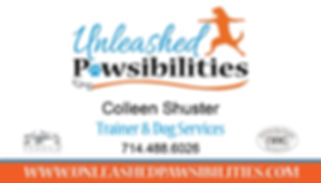 Unleashed Pawsibilities Business Card Co