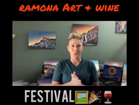 8th ANNUAL RAMONA ART & WINE FESTIVAL