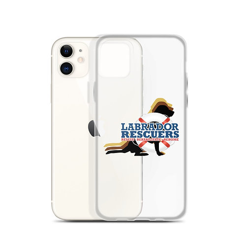 iPhone Case (for most versions) with LR Logo