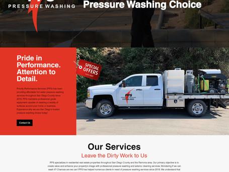 Website Redesign | PPS Pressure Washing