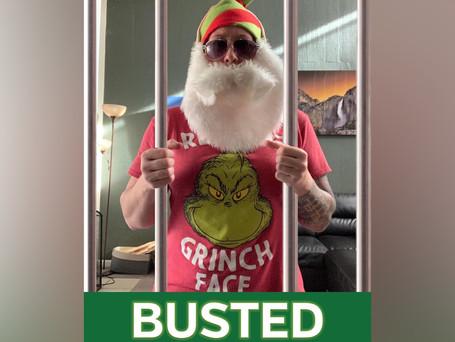 Calendar Grinch Arrested!