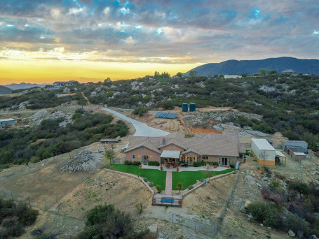 Just Listed | Luxury Meets Rural Living | 4BR/5BA in Valley Center | $1.2M