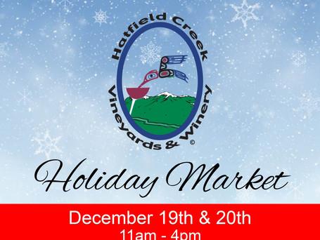 Hatfield Winery | 2nd Annual Holiday Market