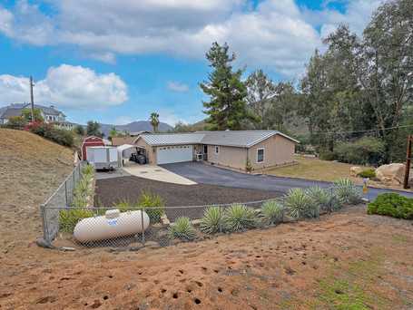 JUST LISTED | Harbison Canyon Home & Rare Commercial Residential Campo Property