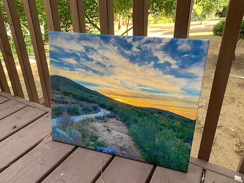 Sunset Path | 16x20 Canvas