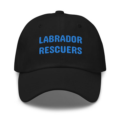 Labrador Rescuers embroidered baseball hat
