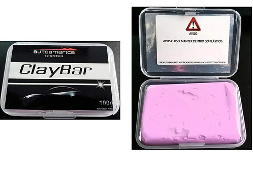 Clay Bar Autoamerica - Abrasividade média - 100g
