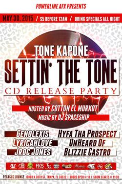 Tone Kapone, Ignite The Night