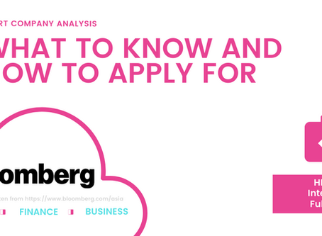 What To Know and How To Apply: Bloomberg, Job for Financial Market Enthusiasts