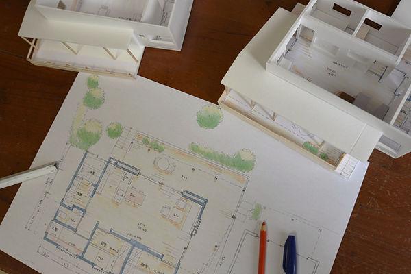 模型,建築,島根,設計,デザイン,スケッチ,プラン