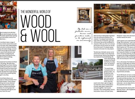 Trend Magazine: Wood & Wool