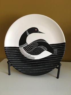 Decorative Ceramic Bird Plate