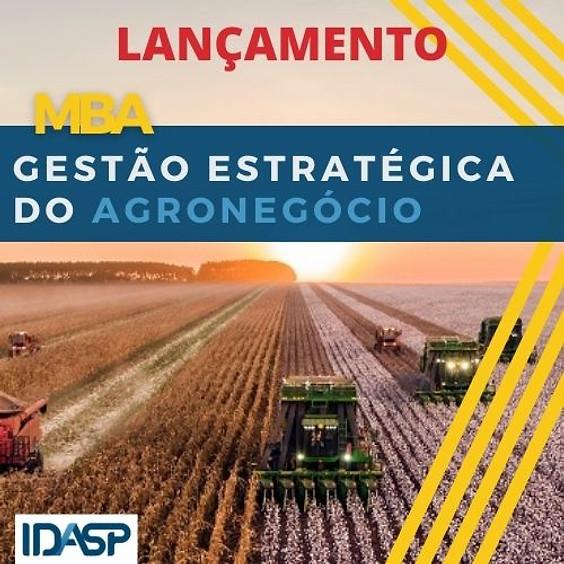 LANÇAMENTO DO CURSO MBA  EM AGRONEGÓCIO NA AGROTINS