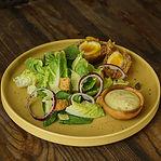 Caesar Salad With Scottish Egg Menu Walking Drums