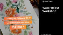 Water Color Workshop by @zulazula