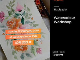 Water Color Workshop by @zulazula