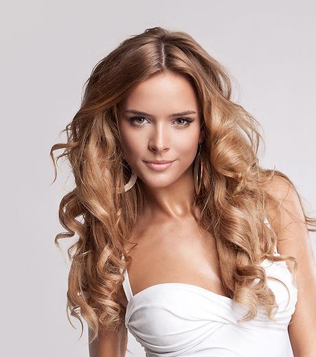 Beautiful Hair Model