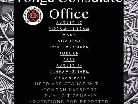Consulate General to Visit Utah