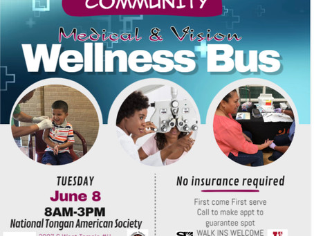 Medical & Vision Wellness Bus
