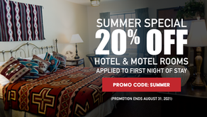 Take 20% off Hotel or Motel Bookings