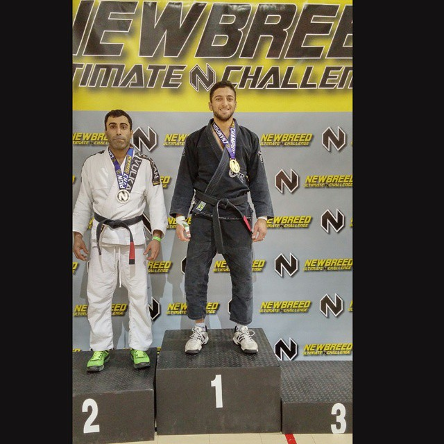 Got the W! Thankful to be able to do what I love! #oss #bjj #bjjlife #valentinesday #newbreedultimat