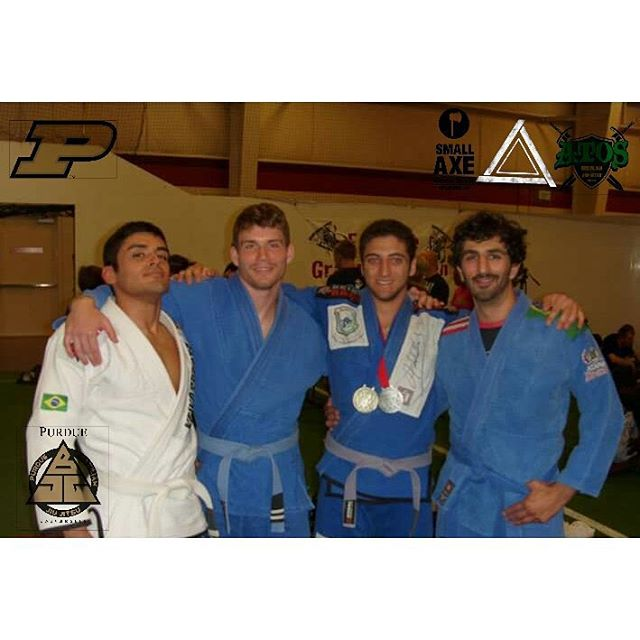 Tomorrow!! I'll be teaching a workshop at the Purdue Brazilian Jiu Jitsu Club in the Purdue Co-Rec a
