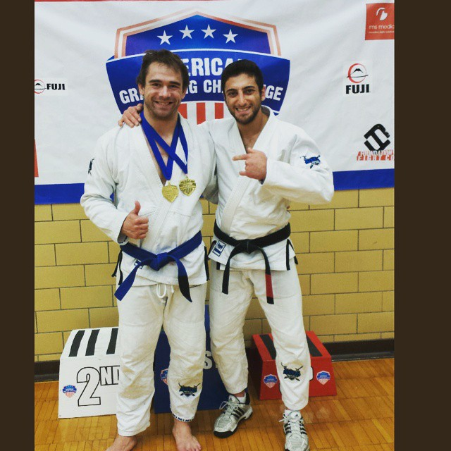 My friend and student _geofflindsell made me smile, he won his division in the Gi AND No Gi!!! He ha
