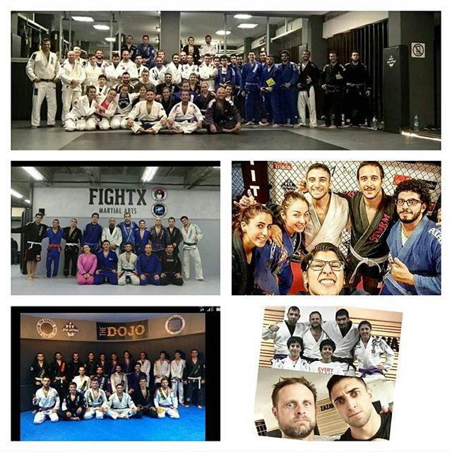 A glimpse of my #bjj experience in amman! the few times I managed to escape the hurricane that was t