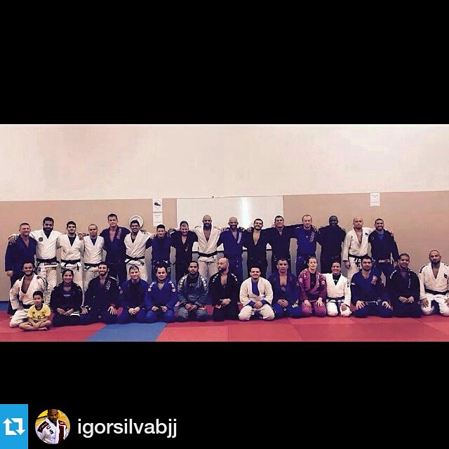 #Repost _igorsilvabjj_Thank you guys for the awesome training!! #oss #bjjlife #bjjbrotherhood #grind