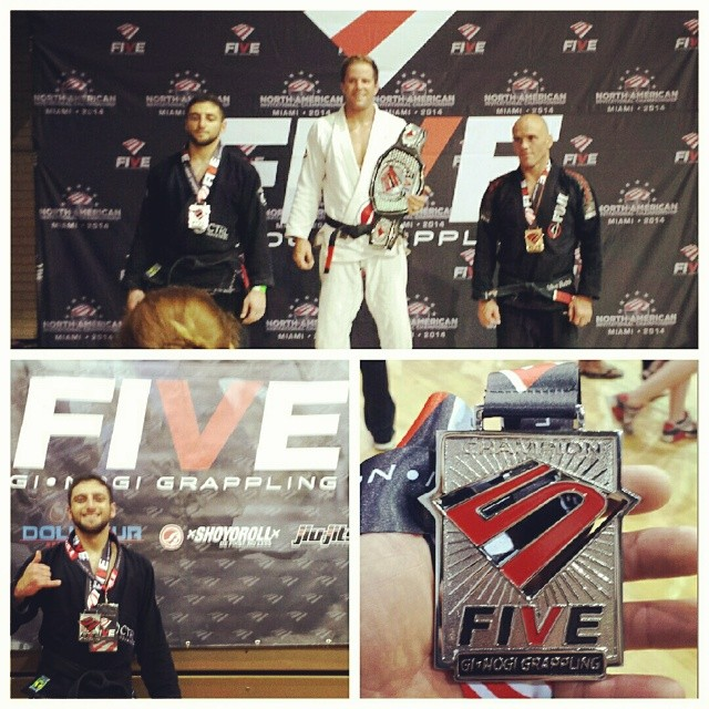 Placed 2nd In my division today at FIVE grappling's Illinois1 tournament