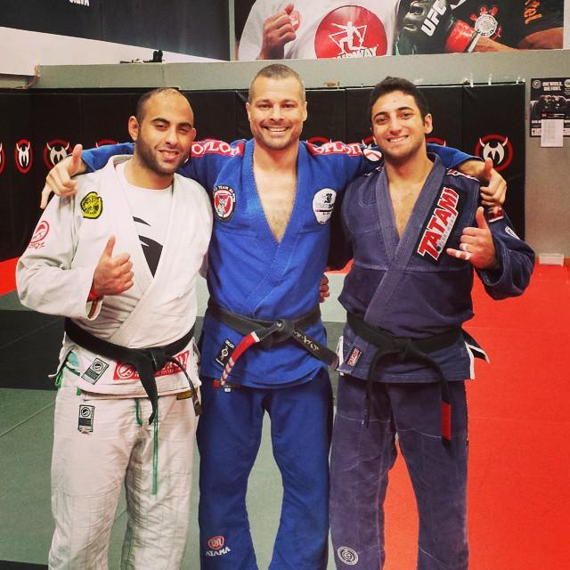 Friday #drills with Eduardo and Zaki! #funtimesonthemat #teamnogueiradubai