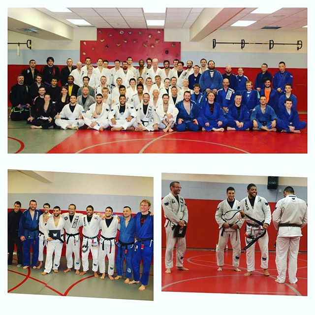 Yesterday the Wrestling room at West Lafayette high school was blessed with some amazing Jiu Jitsu f