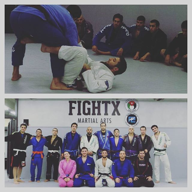 Had a great time at _fightxmartialarts  the other day! Got to share some of my jiu jitsu and get som