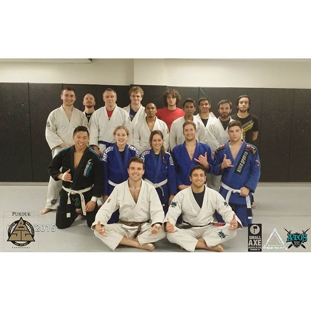 Had an amazing time visiting and teaching at the Purdue BJJ club I co-founded in 2009!! Loved seeing