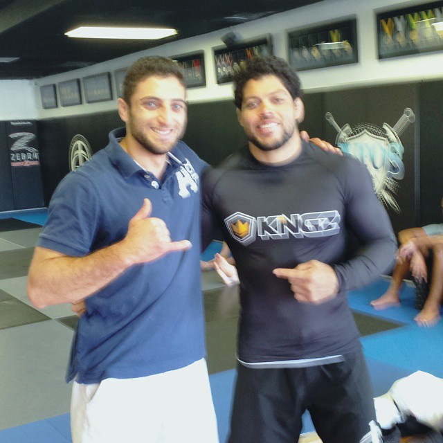 With the man himself.. such an honor standing next to someone who is writing history in #bjj