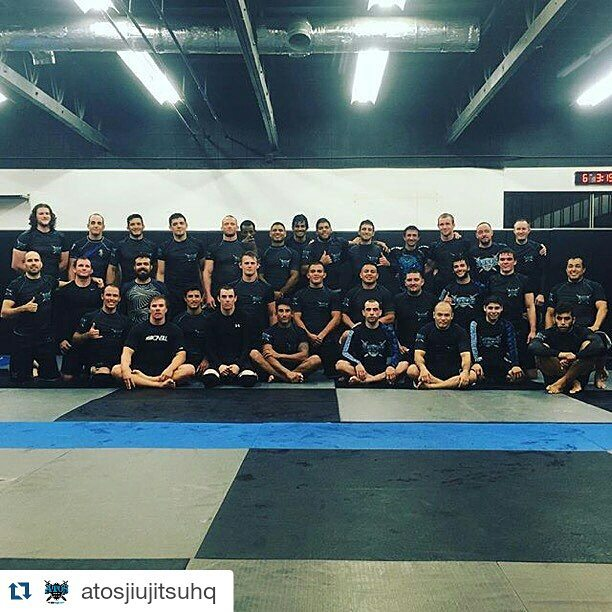 Blessed to have the opportunity to share the mats with these champions, my team, on the last trainin