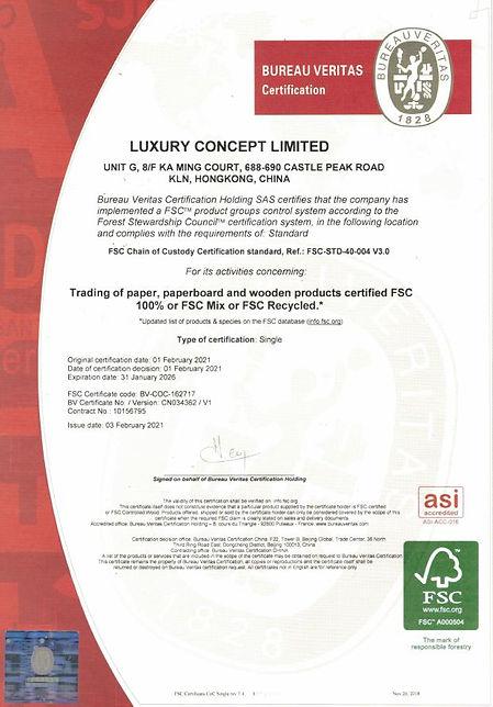 FSC certificate, packaging, paper box, paper bag, FSC paper, FSC product, FSC packaging