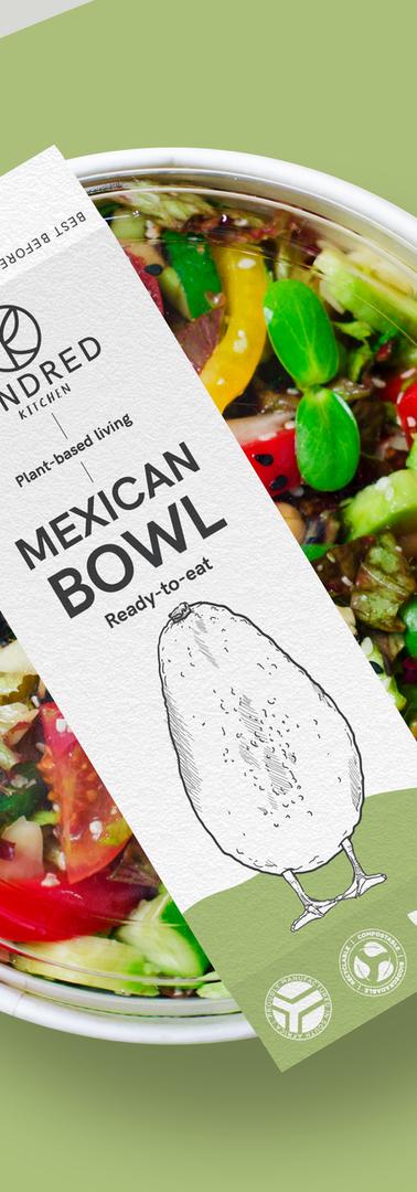 Kindred Kitchen Veganimals Packaging