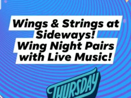 SIDEWAYS WINGS & STRINGS