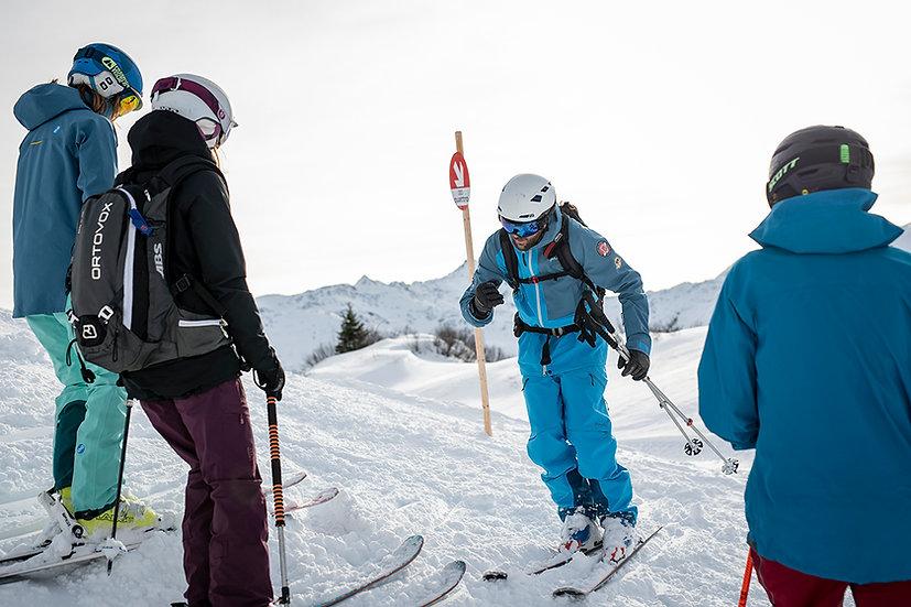 Ski Techniktraining Piste + Freeride Saisonvorbereitung