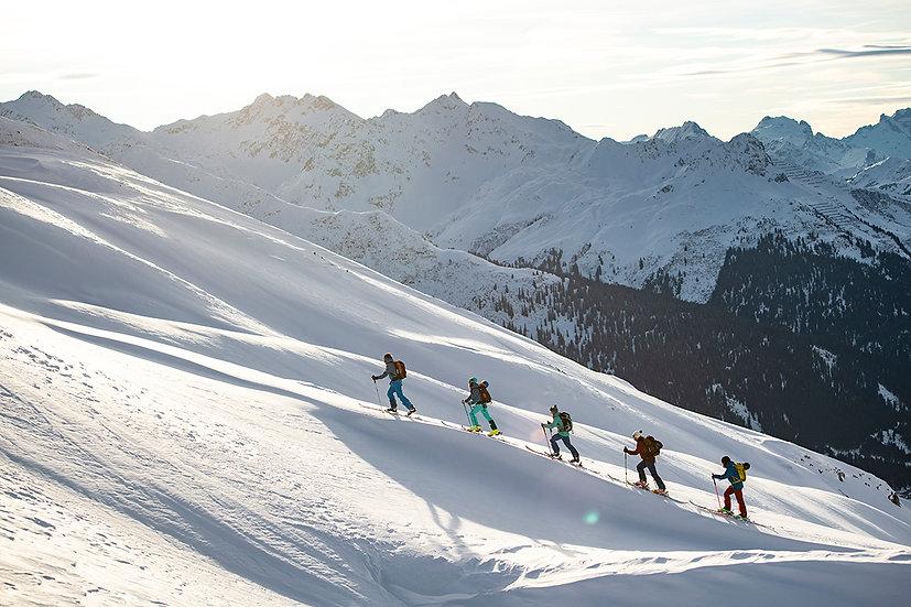 Skitouren und Safetycamp für ambitionierte Einsteiger und Aufsteiger