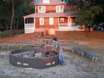 Fire Pit Preparations