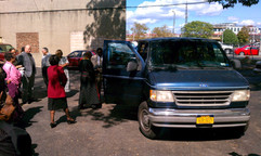 Blessing the Church Van