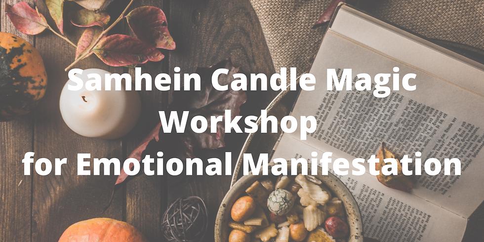 Samhein Candle Magic Online Workshop - Emotional Creation & Manifestation