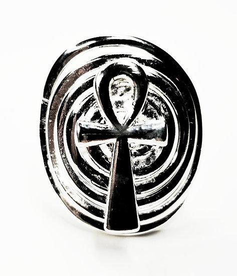 Silver Ankh Ring