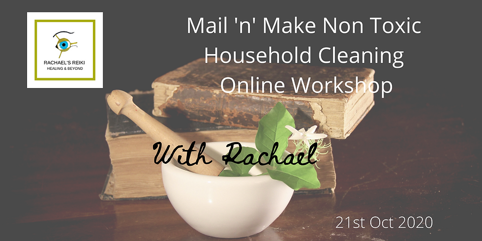 Mail & Make Non Toxic Cleaning Online Workshop
