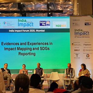 Participated India Impact Forum 2020