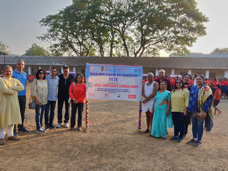 Support to Annual Hemalkasa Surgical Camp arranged by Rotary Club of Nagpur