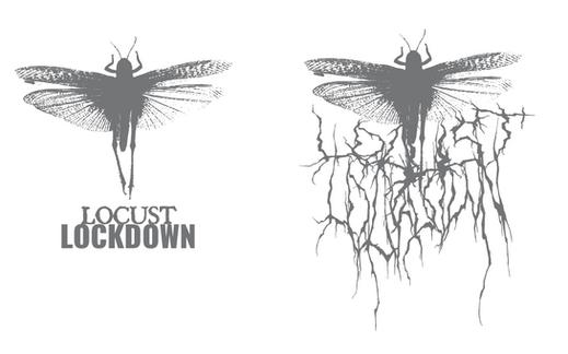 locust lockdown logo variety