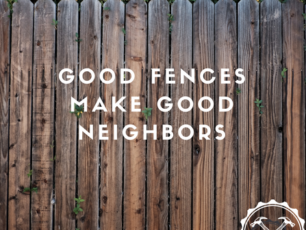 Build a Fence, But Install a Gate
